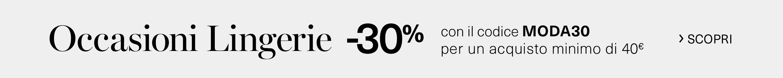 Occasioni Lingerie -30%
