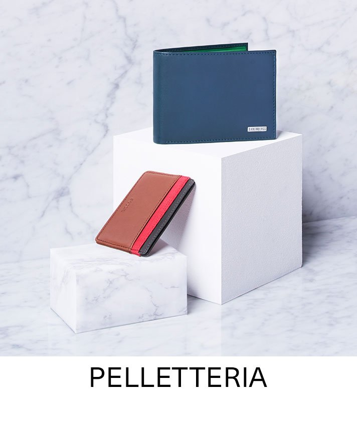 Pelletteria, portafogli e porta carte di credito da uomo