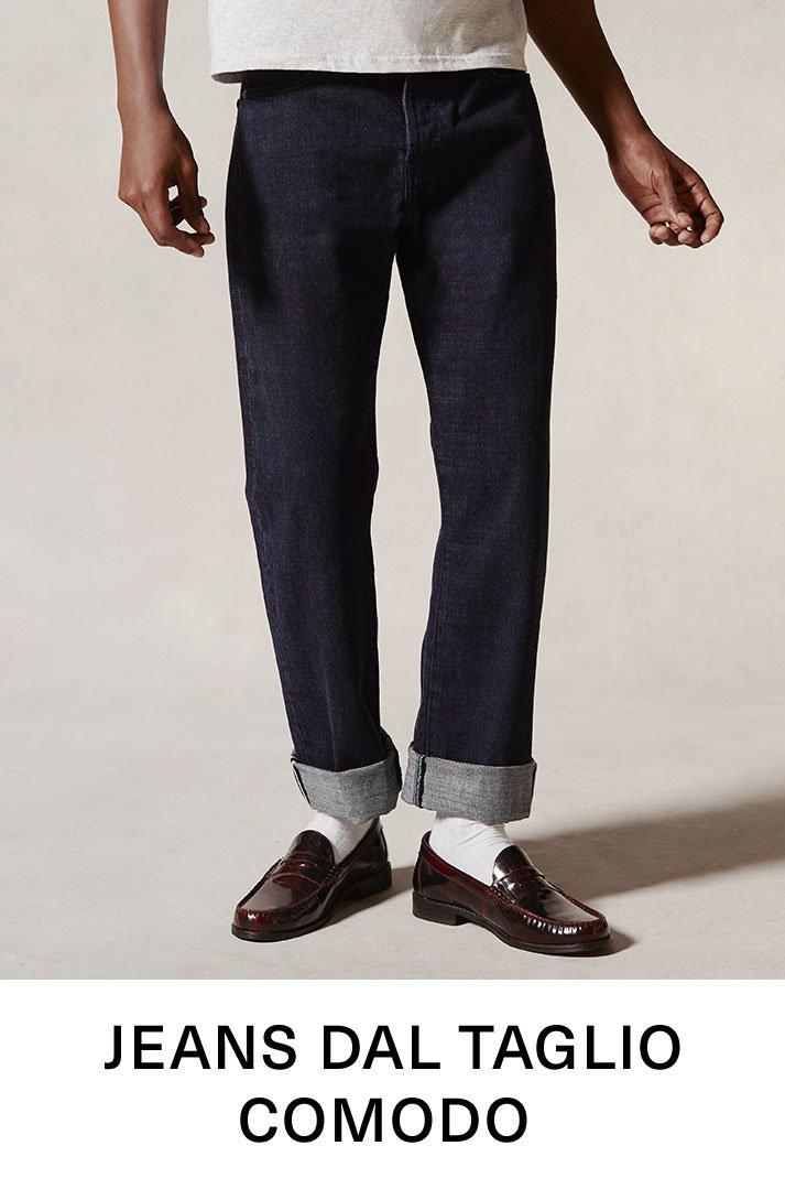 Jeans dal taglio comodo