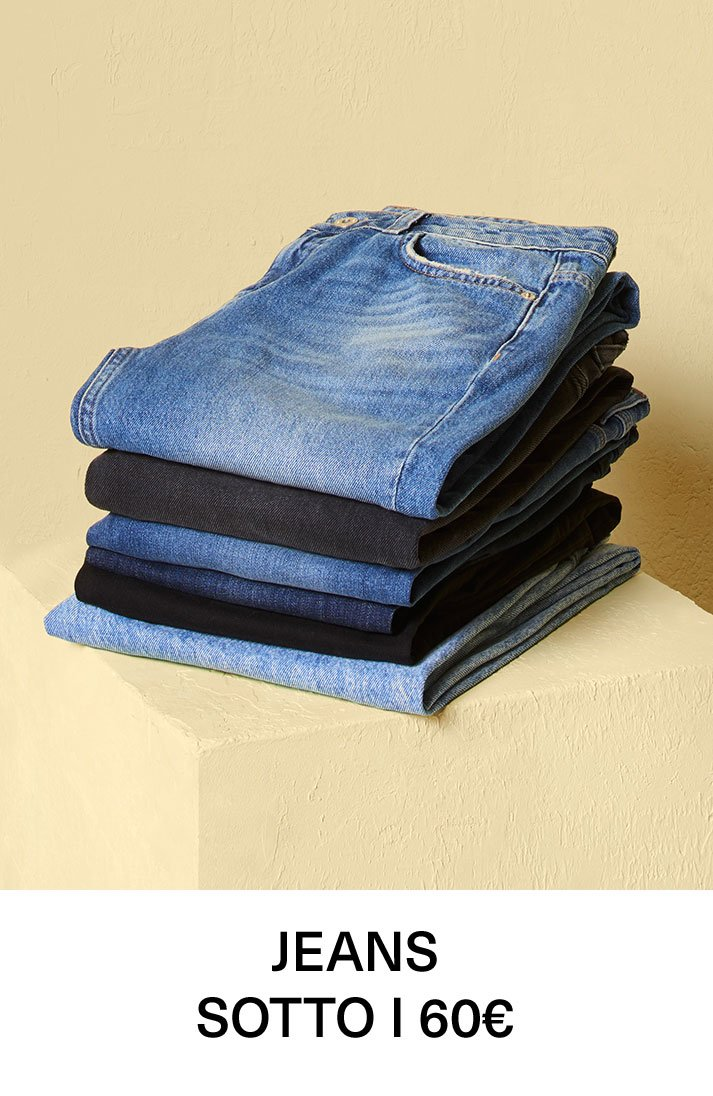 Jeans sotto i 60€
