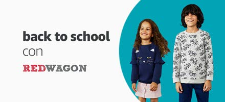 back to school con Red Wagon