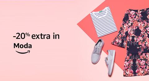 -20% extra in Moda