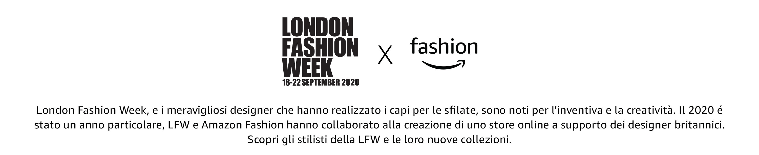 London Fashion Week x Amazon Fashion