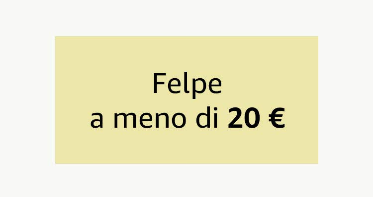 Felpe a meno di 20 €