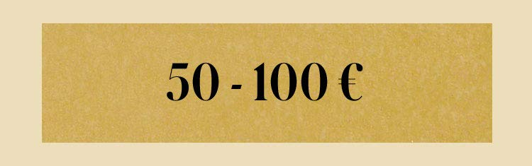 50 - 100€