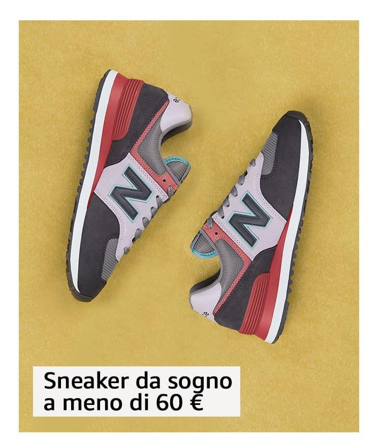 Sneaker da sogno a meno di 60 €