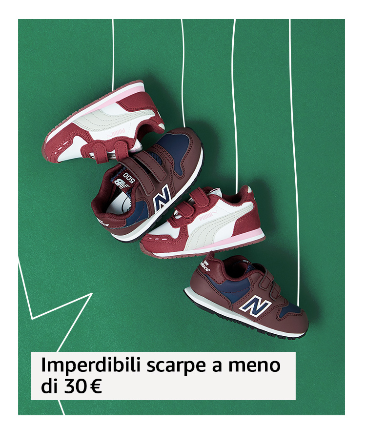 Imperdibili scarpe a meno di 30 €