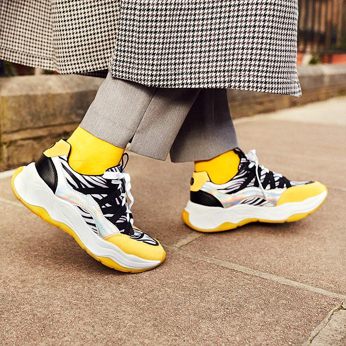 Sneaker con gran stile