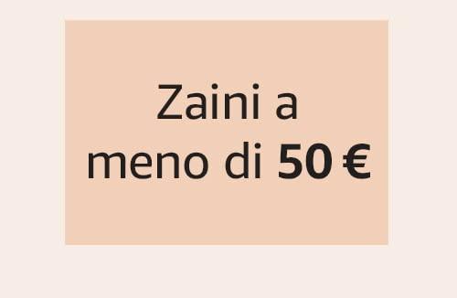 Zaini a meno di 50 €