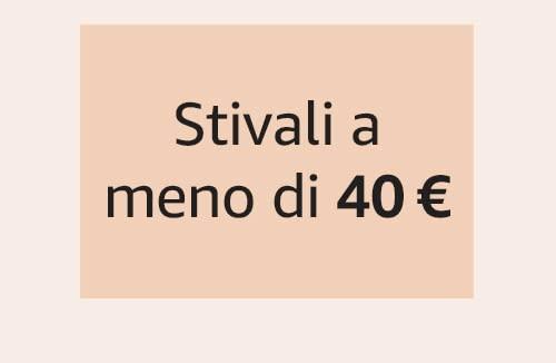 Stivali a meno di 40 €
