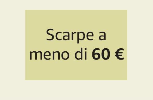Scarpe a meno di 60 €