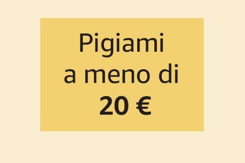 Pigiami a meno di 20 €