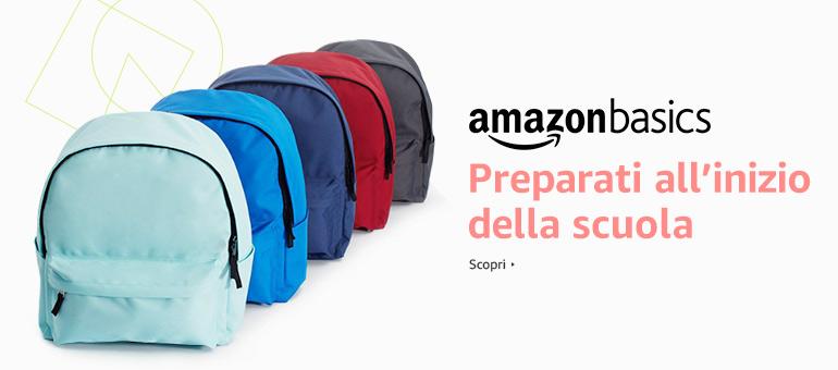 Ritorno a scuola con AmazonBasics