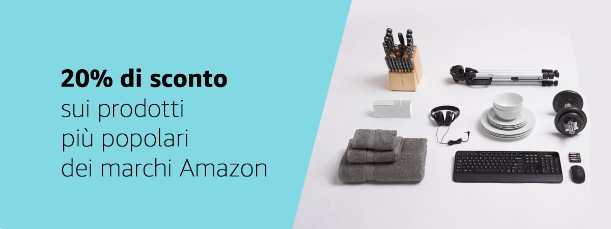 Prodotti popolari dei marchi Amazon