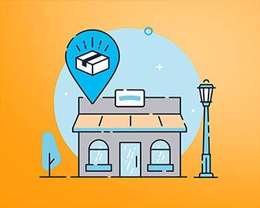 Non sei a casa? Amazon Hub Counter