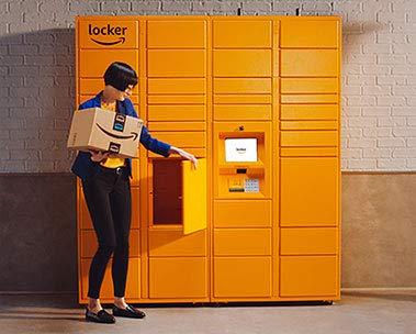 Amazon Hub Locker: siamo aperti