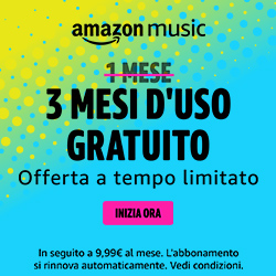 Amazon Music: 3 mesi GRATIS