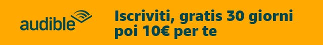 Audible ti regala 10€