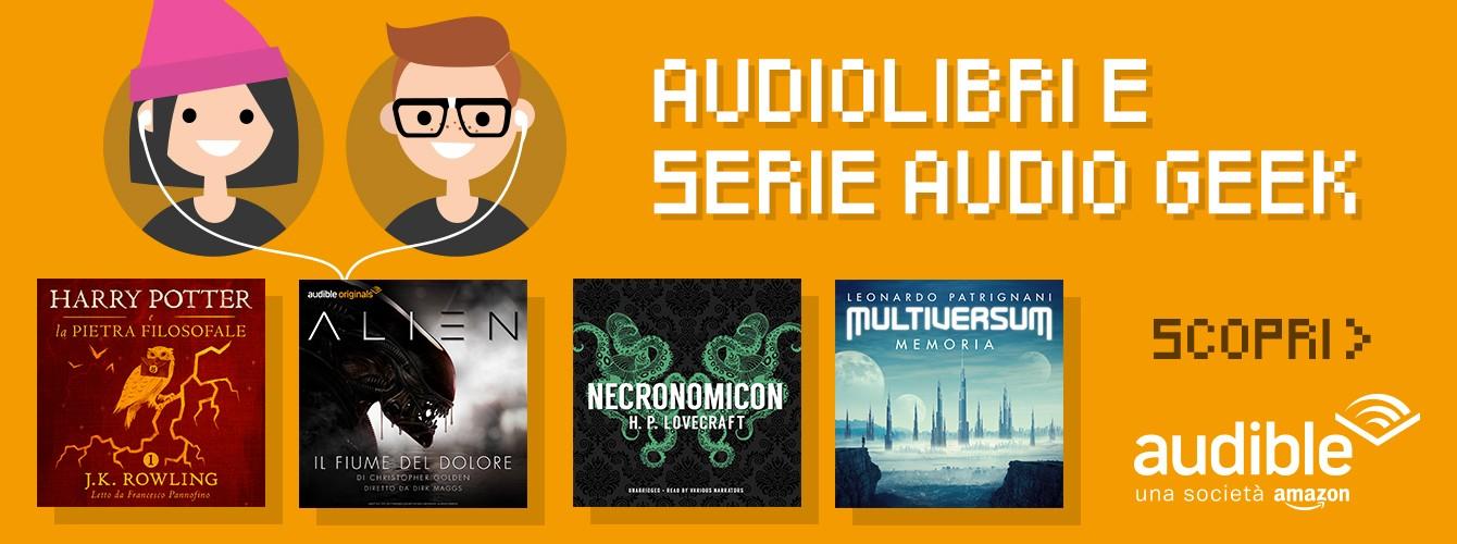Audiolibri e serie audio Geek