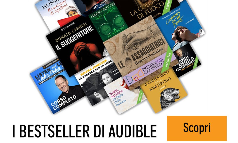 Scopri il catalogo Audible