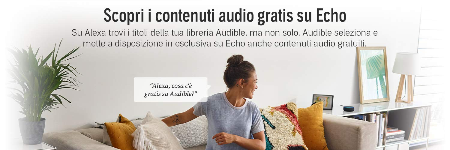 Audible su Amazon Echo