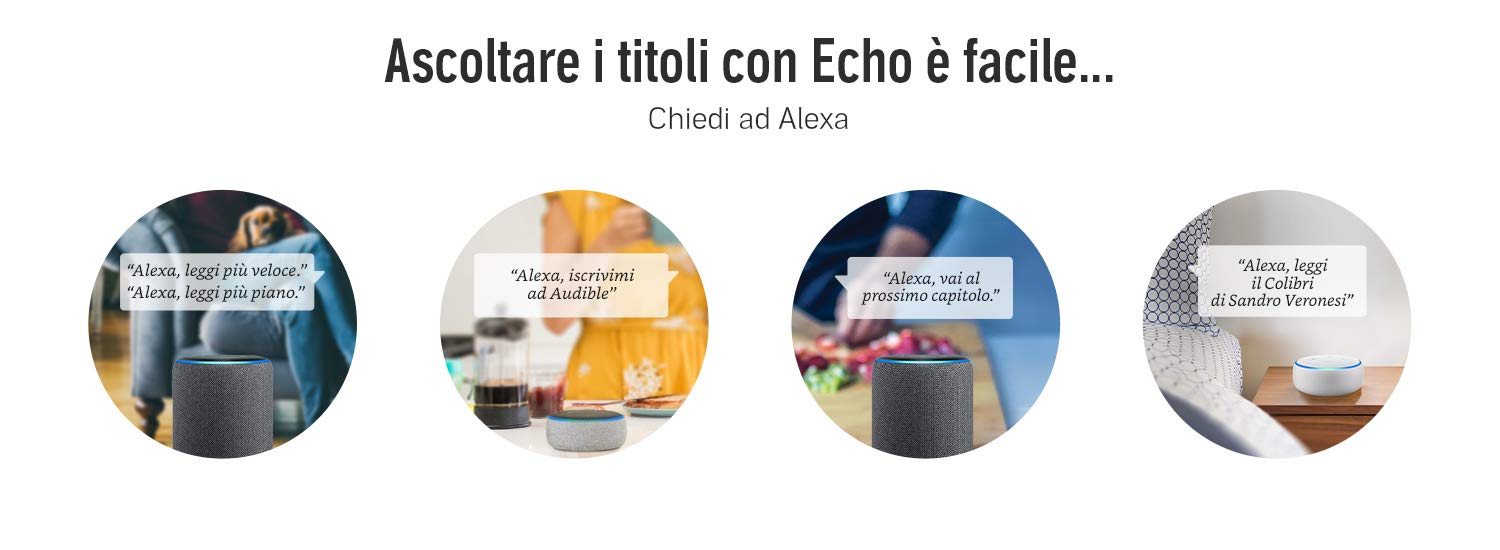 Audible su Alexa