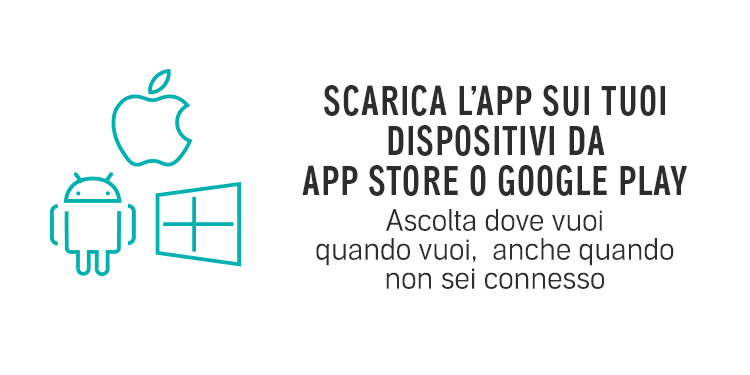 Scarica l'App Audible