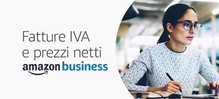 Amazon Business: fatture con IVA