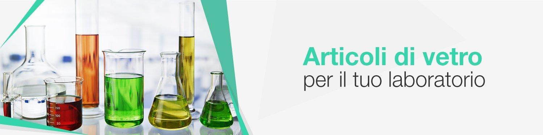 Articoli di vetro per laboratori