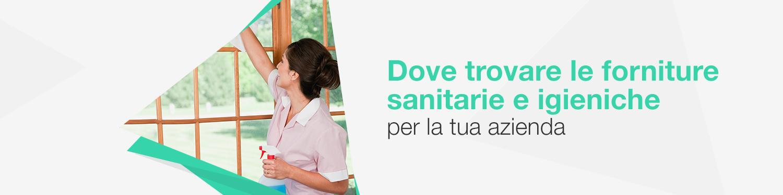 Forniture sanitarie e igieniche per la tua azienda
