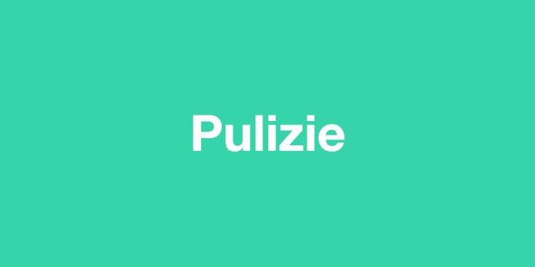 Pulizie