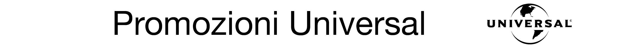 Promozioni Universal