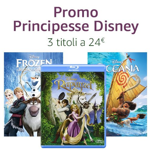 Promo Disney Princess 3x24€