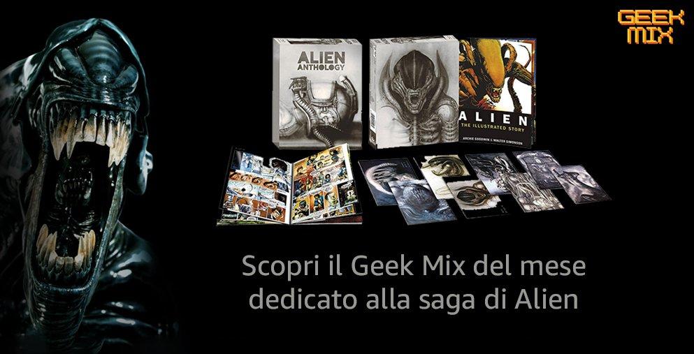 Scopri il geek mix di Alien