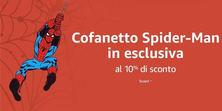 Cofanetto Spider-Man in esclusiva al 10% di sconto