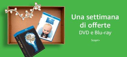 Una settimana di offerte in DVD e Blu-ray
