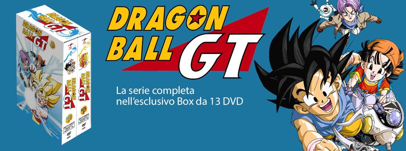 Dragonball GT - La serie completa in DVD