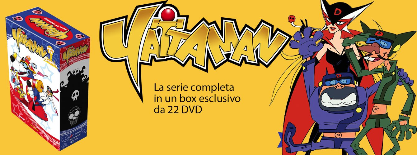 Yattaman - La serie completa in DVD