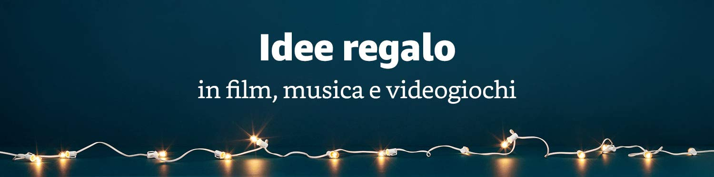 Idee regalo Film, Musica, Videogiochi