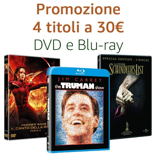 Offerta 4 titoli a 30€