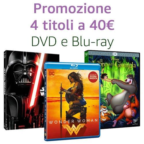 Offerta 4 titoli a 40€