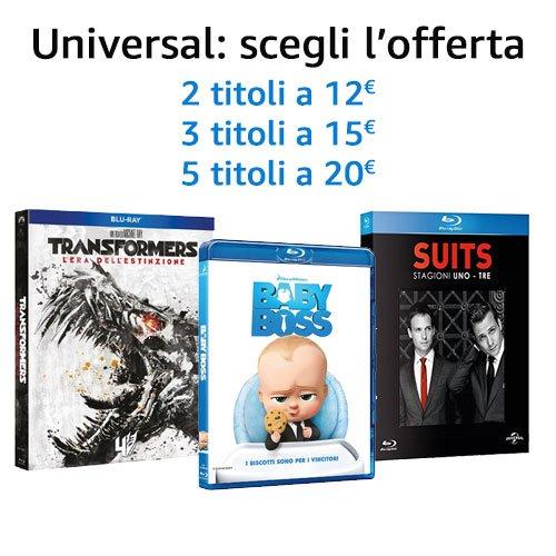Universal: scegli l'offerta