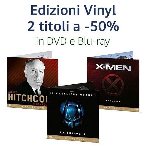 Promozione  Vinyl 2 titoli = -50%