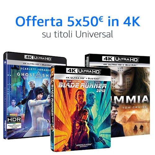 Offerta 5x50 4K Universal