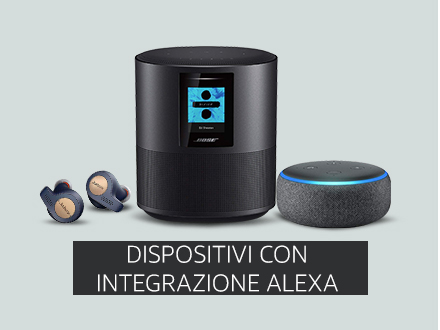 Dispositivi con Alexa Integrata