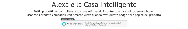 Alexa e la Casa intelligente