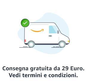 Consegna gratuita da 29 Euro*