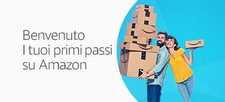 Benvenuto.Scopri i vantaggi di acquistare su Amazon