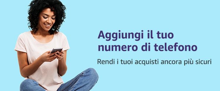 Aggiungi il tuo numero di telefono