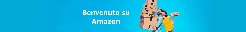 Benvenuto su Amazon